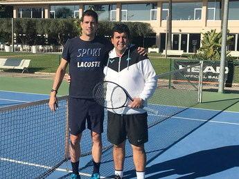 Juan Manuel Esparcia entrenará esta temporada al tenis Guillermo García López