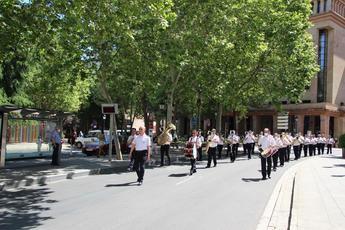 Gran pasacalles de la Banda Sinfónica Municipal para celebrar un Día de la Música marcado por las medidas de prevención