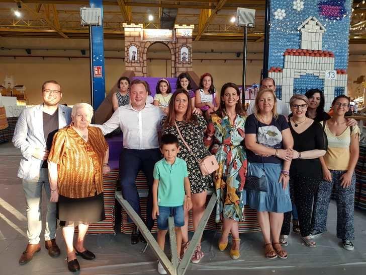Las carrozas de la Feria de Albacete ya están a punto para la Cabalgata del día 7