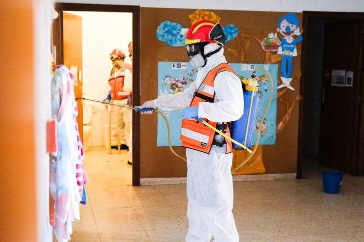 El Ayuntamiento de Almansa da por finalizada la desinfección en más de 6.200 puntos de la ciudad