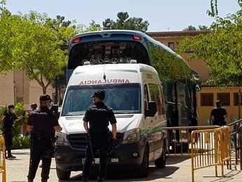 Los temporeros e ilegales del IFAB inician un nuevo confinamiento en diversos pabellones de Albacete