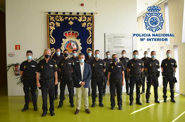 66 Policías Nacionales inician sus prácticas en las Comisarías de Castilla-La Mancha