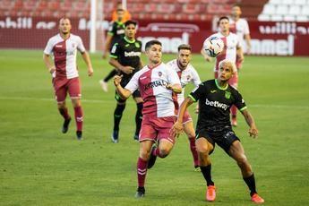 El Albacete Balompié empató sin goles ante el Leganés en un competido partido
