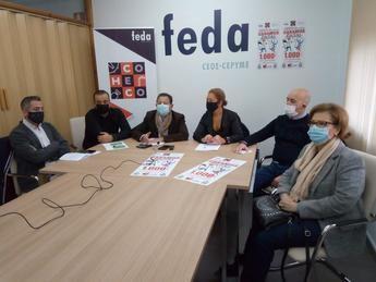 FEDA en Hellín presenta la campaña de Navidad bajo el lema 'Comprando en Hellín y Comarca ganamos todos'
