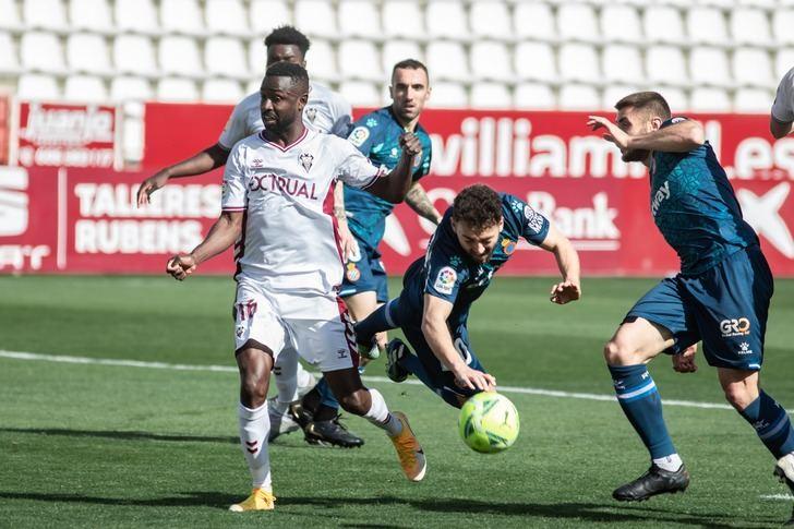El Albacete se hunde en el fondo de la tabla tras la derrota ante el líder Espanyol (0-3)