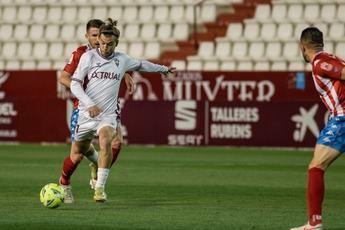 Un penalti fallado por Álvaro Jiménez en el 86 dejó al Albacete sin triunfo ante el Lugo (1-1)