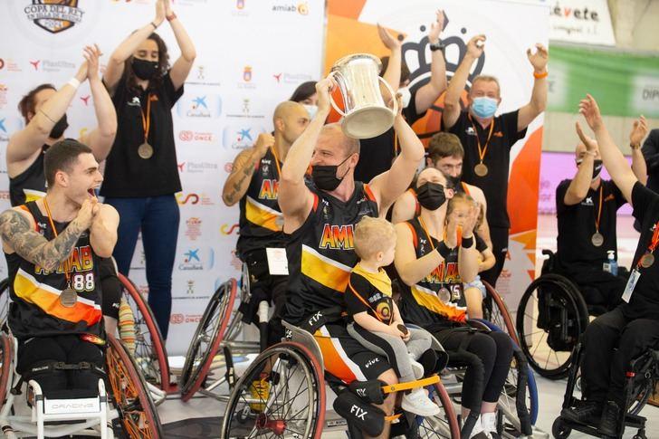 El BSR Amiab Albacete, nuevo campeón de la Copa del Rey
