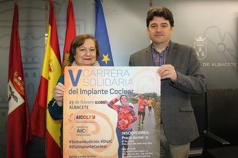 Albacete acoge el próximo sábado la V carrera solidaria del implante coclear