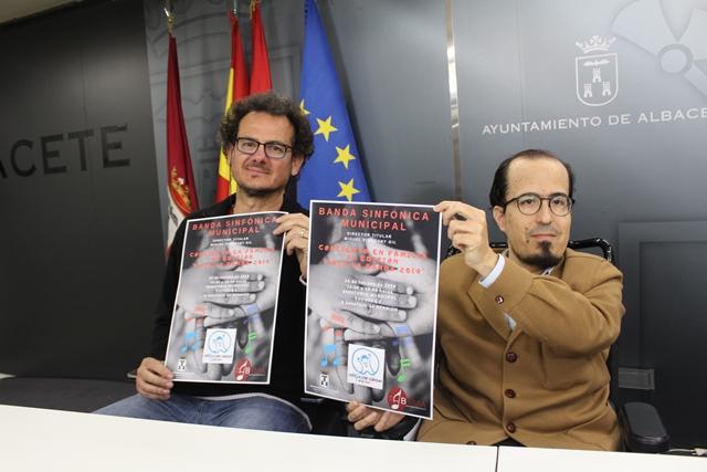 """El Ayuntamiento de Albacete clausura el programa """"Toca la Banda"""" con el """"Concierto en familia"""" a beneficio de Afanion"""