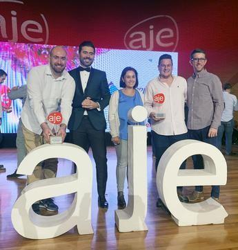 Dos empresas de La Roda reciben los premios de AJE 2019