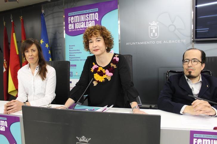 El Ayuntamiento de Albacete presenta las actividades programadas con motivo del Día Internacional de la Mujer