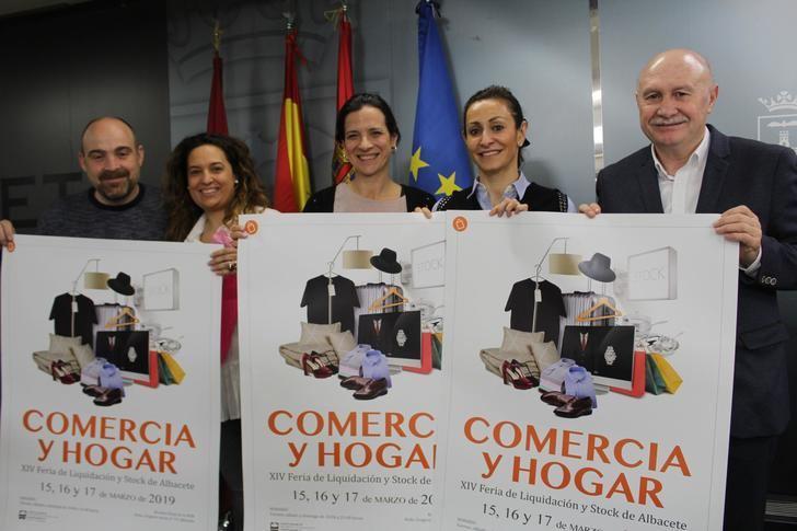 El Ayuntamiento de Albacete presenta la IV edición de la feria de liquidación y stock 'Comercia 2019'