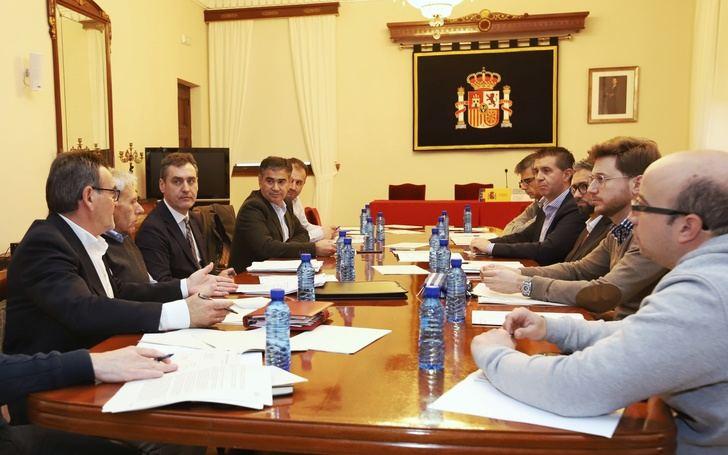 Reunión en la subdelegación del Gobierno de Albacete con los ayuntamientos afectados por las lluvias y nieves de 2016 y 2017