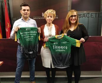 La Diputación de Albacete se une al equipo inclusivo Titanes Solidarios