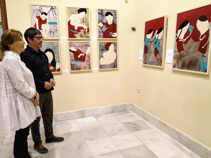 El centro cultural La Asunción acoge la exposición 'Ella & Bobby', del creador albaceteño Anselmo Gómez