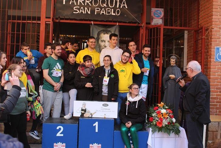 El barrio de San Pablo de Albacete fue escenario de la Carrera de Don Bosco