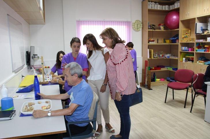 El centro 'CIEN' de Albacete, 'pionero y referente' en la atención a personas con discapacidad