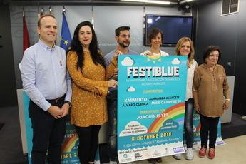 Albacete celebra el primer 'Festiblu' con motivo del XV aniversario de la asociación Desarrollo Autismo