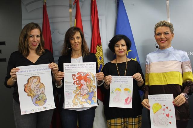 """Albacete presenta el programa de actividades con motivo de la """"Semana Mundial de la Lactancia Materna"""""""