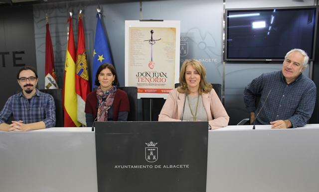 El taller de teatro de la Universidad Popular de Albacete representará la obra 'Don Juan Tenorio' con motivo de la festividad de `Todos los Santos´
