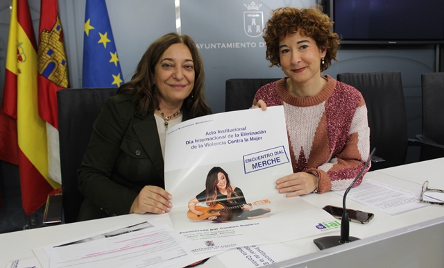 'Merche' cantará en el Auditorio Municipal con motivo del Día de la Eliminación de la Violencia contra la Mujer