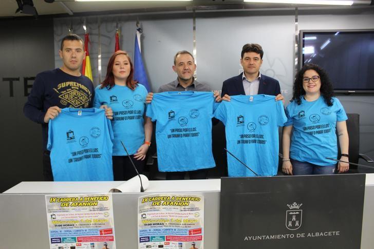 Albacete celebra el próximo miércoles la IX carrera a beneficio de Afanion