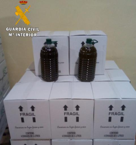 Investigado un joven de Hellín por receptar y vender más de 12.000 kilos de aceituna de procedencia desconocida