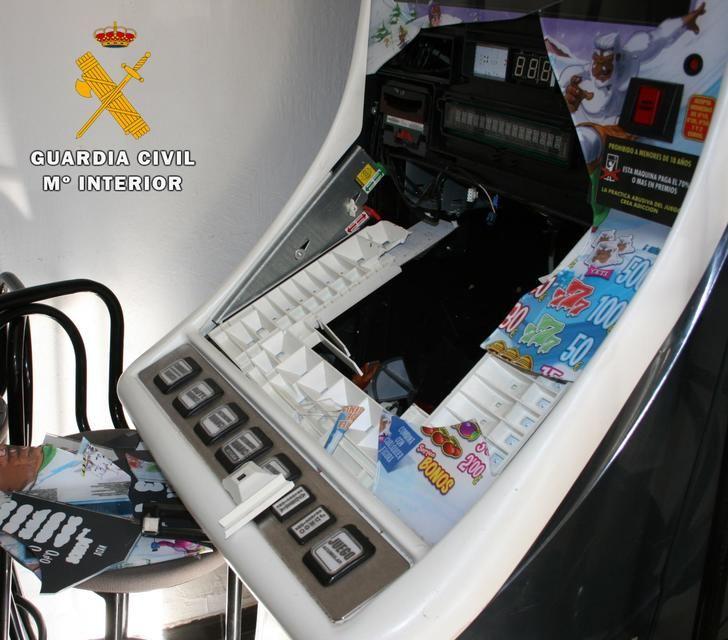 La Guardia Civil detiene en Almansa al autor de numerosos robos en establecimientos de la localidad