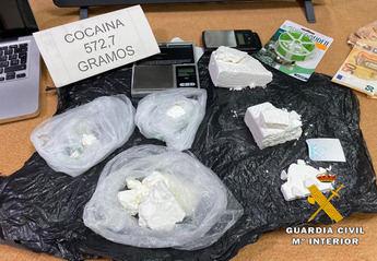 Desarticulado un grupo criminal en La Roda dedicado al tráfico de drogas