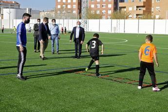 1,2 millones de euros para acondicionar los cuatro campos de fútbol de césped artificial en el Carlos Belmonte de Albacete