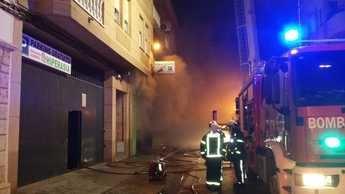 Trasladadas 10 personas al hospital tras un incendio en bazar chino de Villarrobledo