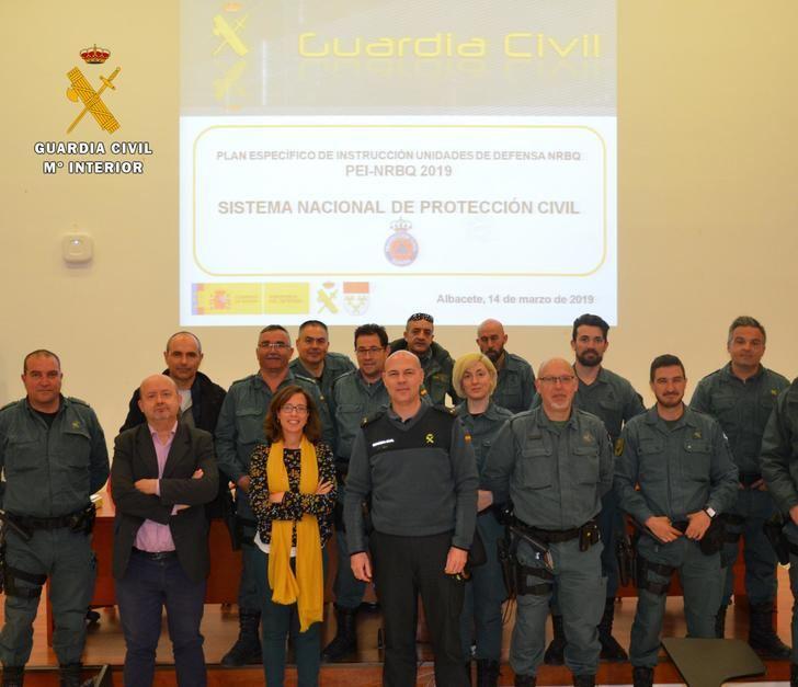 La Guardia Civil de Albacete realiza unas jornadas ante emergencias de tipo nuclear, radiológico, biológico y químico