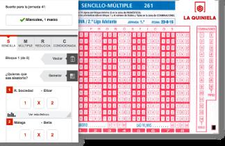 Un acertante de Ontur (Albacete) de 14 aciertos de la quiniela cobrará 67.653 euros
