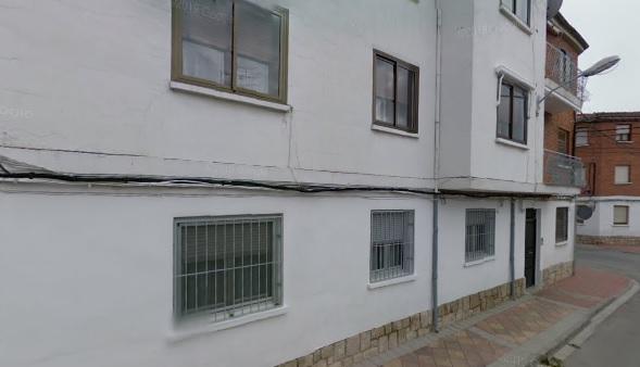 Esta es la vivienda afectada.