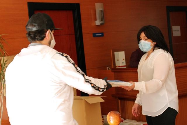 El Ayuntamiento de La Roda comienza a repartir esta semana 3.000 mascarillas