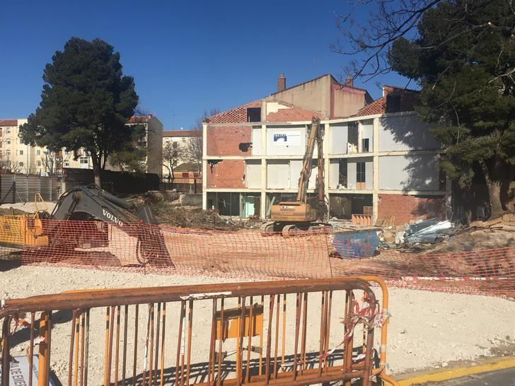 Comienzan las obras del derribo completo del Centro de Atención a la Salud (CAS) de Albacete