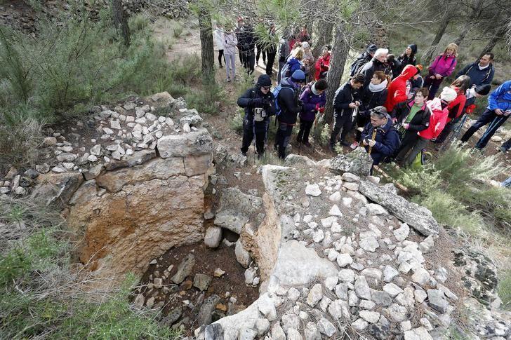 Fin de semana de senderismo con las rutas de la Diputación en Pozo Lorente y Carcelén