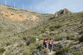 Caudete protagonista este fin de semana en la nueva ruta de senderismo de la Diputación
