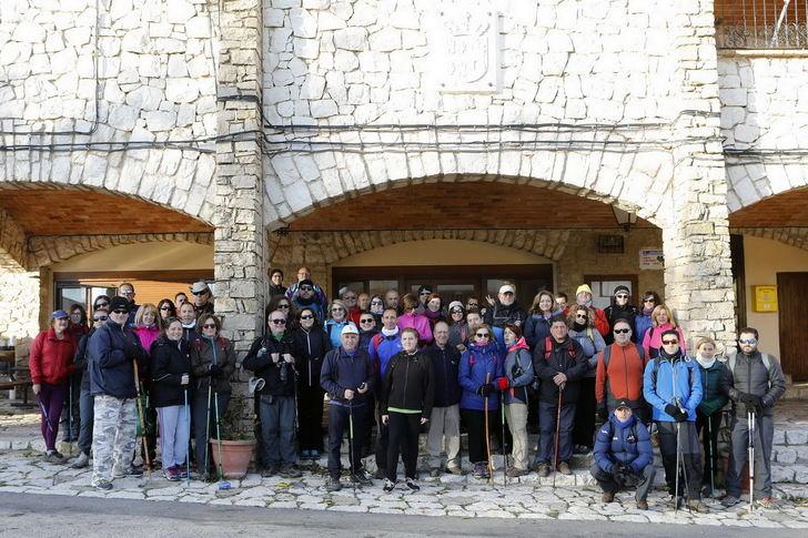 La V edición de las rutas senderistas de la Diputación concluyeron el pasado domingo en Villa de Ves