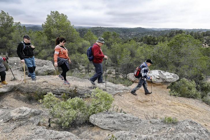 Villamalea protagonista este domingo de la IV ruta de senderismo de la Diputación