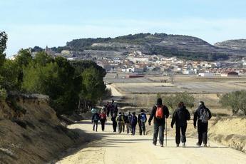 Llega a Higueruela la II ruta de senderismo de la Diputación