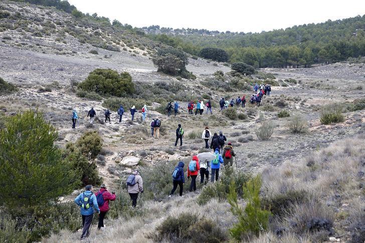 Fantástico día en Higueruela con las rutas de senderismo de la Diputación