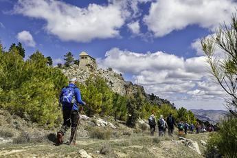 Yeste acoge este domingo la nueva ruta senderista de la Diputación