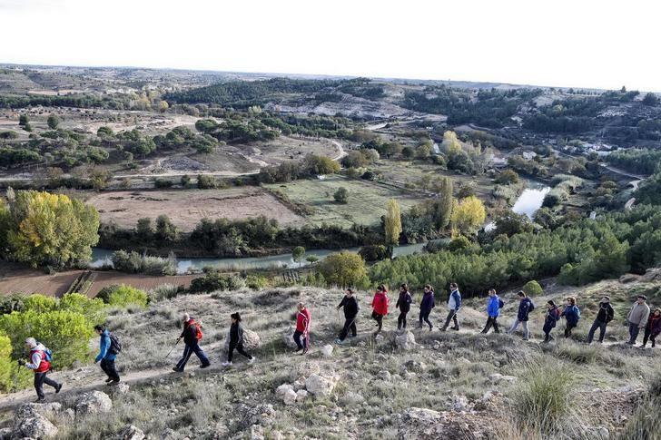 Valdeganga acoge el sábado la XXXII ruta senderista de la Diputación