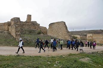 Munera acogió el pasado domingo la III ruta de senderismo de la Diputación