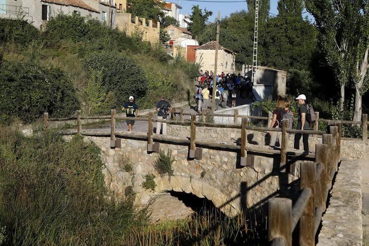 Espectacular día en la ruta senderista de la Diputación en Casas de Lázaro