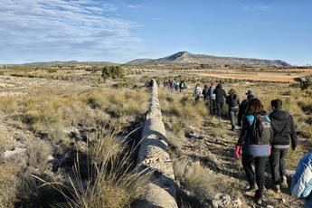 Alpera da comienzo a la VII edición de senderismo de la Diputación Provincial