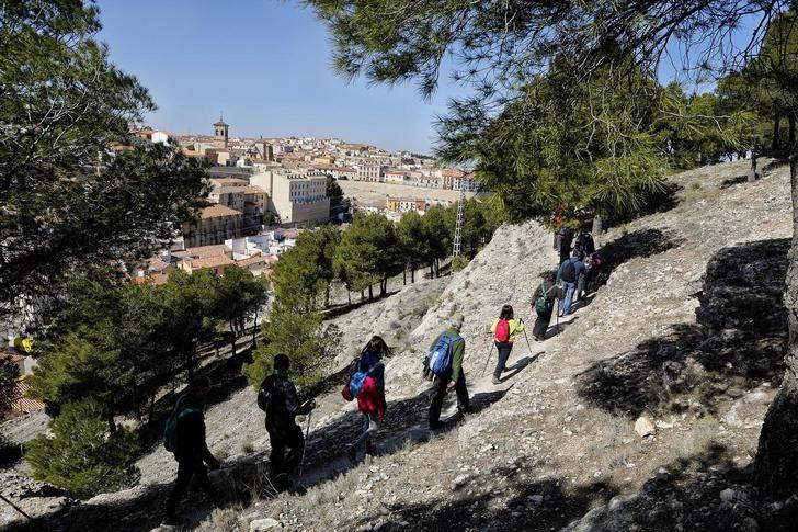 Chinchilla de Montearagón recibe este domingo la VIII ruta de senderismo de la Diputación