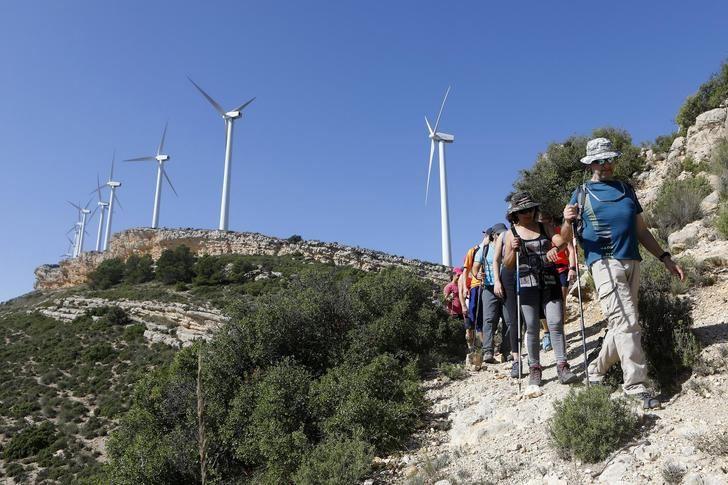 Los senderistas disfrutaron este fin de semana de la Sierra Oliva de Caudete