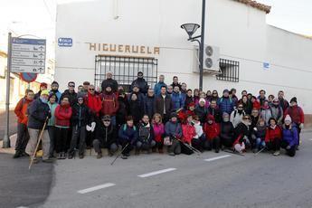 Higueruela recibió el pasado fin de la semana la II ruta senderista de la Diputación 2019